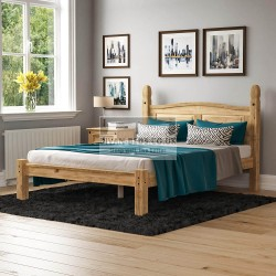 Harper Pine Wood Bed Frame