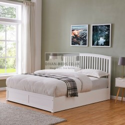 Laycroft Wooden Ottoman Storage Bed with Headboard
