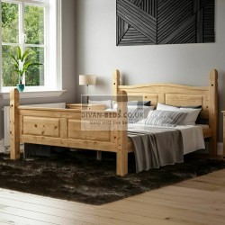 Hayden Pine Wood Bed Frame