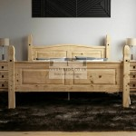 Hayden Pine Wood Bed Frame