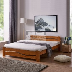 Indiana Wooden Bed Frame