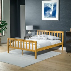 Yorkland Pine Wood Bed Frame